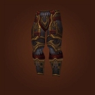 Furious Gladiator's Scaled Legguards, Furious Gladiator's Ornamented Legplates Model