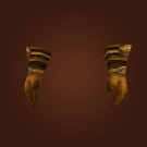 Adventurer's Gloves, Aged Core Leather Gloves, Thick Draenic Gloves Model