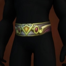 Girdle of Mighty Resolve, Girdle of Lordaeron's Fallen, Girdle of the Lightbearer, Vindicator's Lamellar Belt, Vindicator's Ornamented Belt, Vindicator's Scaled Belt Model