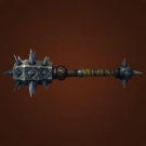 Stone-Headed Gavel, Mace of the Fallen Raven Priest, Cobalt Tenderizer, Beatific Mace Model