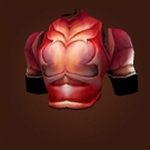 Gilded Crimson Chestplate, Bloodscale Breastplate Model