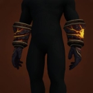 Fists of Fury, Flickering Handguards, Handguards of the Molten Giant, Gauntlets of the Molten Giant Model