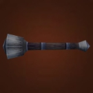 Heavy Mace, Weighted Sap, Pneumatic War Hammer Model