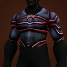 Demon-Forged Chestguard, Blackened Chestplate Model