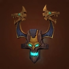 Faceguard of the Witch Doctor, Helmet of the Witch Doctor Model