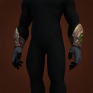 Matron's Supple Gloves, Ironburner Handwraps, Felcast Gloves, Pact-Bound Velvet Gloves Model