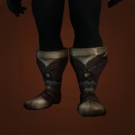 Coldsnout Boots, Voidcaller Boots, Jehil's Climbin' Boots, Uzko's Dusty Boots, Slimy Sea Serpent Skin Sabatons, Shirzir's Sticky Slippers, Talador Sentinel Boots Model