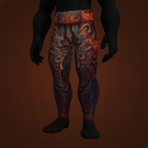 Al'set's Tormented Leggings, Leggings of Pulsing Blood, Al'set's Tormented Leggings, Leggings of Pulsing Blood Model