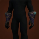 Brutal Gladiator's Mooncloth Gloves, Brutal Gladiator's Satin Gloves Model