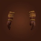 Runic Leather Gauntlets Model