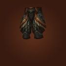 Crafted Malevolent Gladiator's Plate Legguards Model