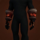 Replica Blood Guard's Dreadweave Gloves, Replica Blood Guard's Dreadweave Handwraps Model