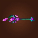 Wand of the Forgotten Star, Luminescent Rod of the Naaru, Naaru-Blessed Life Rod, Gnomish Magician's Quill Model