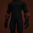 Garmaul Bracers, Purestrike Bracers, Cold-Iron Armbands, Skom Bracers, Orca Bindings, Paingiver Wristguards, Trapper Bracers, Whip-Stitched Wristguards, Wristguard of the Tormented Soul, Wristguards of Service, Flesh-Scaled Bracers, Bindings of Raelorasz Model