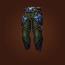 Leggings of Nature's Champion, Deep Earth Legwraps, Deep Earth Legguards, Deep Earth Leggings Model