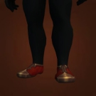 Astonishingly Scarlet Slippers Model
