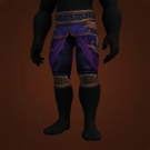 Wrathful Gladiator's Silk Trousers Model