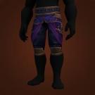 Wrathful Gladiator's Silk Trousers Model