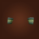 Bronze Mail Bracers Model