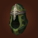 Bloodspore Hood, Mender's Cover, Foothold Hood, Wyrmward Cover, Voldrune Crown, Abandoned Hood, Ethereal Hood, Tethys Hood, Shock-Proof Head Protector Model