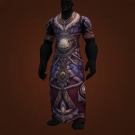 Conqueror's Nightsong Raiments, Conqueror's Nightsong Robe, Conqueror's Nightsong Vestments Model