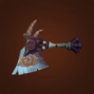 Creeperclaw Axe, Abandoned Dark Iron Handaxe Model