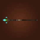 Magus Long Staff, Totemic Staff, Auchenai Staff Model