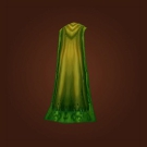 Ivycloth Cloak, Gaea's Embrace, Muck-Covered Drape Model
