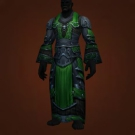 Savage Gladiator's Mooncloth Robe, Savage Gladiator's Satin Robe Model