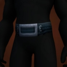 Silver Defias Belt, Blackforge Girdle Model