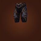 Wild Gladiator's Dreadplate Legguards, Wild Gladiator's Plate Leggings Model