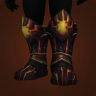 Warboots of Mighty Lords, Cracked Obsidian Stompers Model