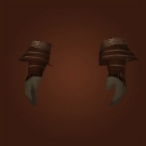 Coiled Leather Gauntlets Model