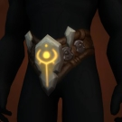 Torch-Brazed Waistguard, Cursed Demonchain Belt, Wild Gladiator's Waistguard of Prowess, Warmongering Gladiator's Waistguard of Prowess Model
