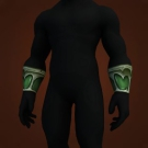 Fel Iron Chain Bracers Model
