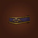 Send-Off Belt, Send-Off Belt, Hieronymus' Belt, Hieronymus' Belt, Cleansed Shadow Council Belt Model
