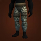 Tranquillien Plate Leggings, Vindicator's Iron Legguards Model