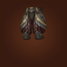Crafted Dreadful Gladiator's Plate Legguards Model