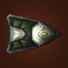 Embossed Brazen Shield Model