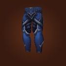 Brutal Gladiator's Leather Legguards Model