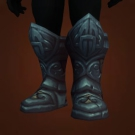 Haunted Steel Treads, Treads of the Blind Eye, Locksmasher Greaves, Treads of the Blind Eye, Locksmasher Greaves Model