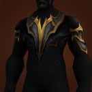 Golden Dragonstrike Breastplate Model