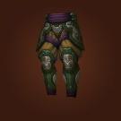 Torik-Ethis' Bloodied Legguards, Kovok's Riven Legguards, Elder Tortoiseshell Legplates Model