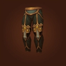 Crafted Dreadful Gladiator's Scaled Legguards, Crafted Dreadful Gladiator's Ornamented Legplates Model
