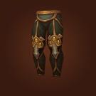 Crafted Dreadful Gladiator's Scaled Legguards, Crafted Dreadful Gladiator's Ornamented Legplates Model