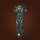 Crafted Malevolent Gladiator's Mooncloth Robe, Crafted Malevolent Gladiator's Satin Robe Model