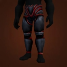 Dark Iron Leggings, Runed Sketh'lon Legplates, Inferno Tempered Leggings Model