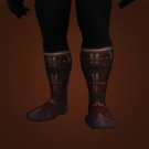 Silent Boots, Faded Forest Leather Boots, Faded Forest Hide Footguards, Whisper Boots, Misthide Boots, Mushan Hide Boots, Misthide Boots Model