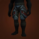 Tyrannical Gladiator's Leather Legguards, Tyrannical Gladiator's Leather Legguards Model
