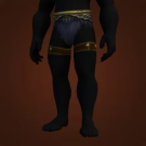 Ceremonial Leather Loincloth, Warbear Woolies Model